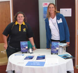 Kaikoura Whale Day booth